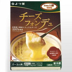 送料込 よつ葉 チーズフォンデュ 3箱セット 北海道十勝100% 冷