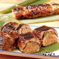 釧路名物魚政さんまんま150g×2本お土産サンマフィッシャーマンズワーフMOO1fにある!特性の醤油ダレに漬け込んだ脂ののった秋刀魚と大葉で包んだもっちりとしたご飯をサンド!さらにもう一度焼いて香ばしさをだしています