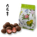 六花亭 ストロベリーチョコミルク 袋タイプ 60g北海道お土産 お取り寄せ 贈り物 ドライフルーツ チョコレート お菓子…
