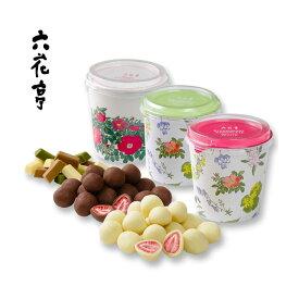六花亭 チョコレート ギフト セットストロベリーチョコ 130g (ホワイト・ミルク・ベビーミックス)期間限定割引 送料込 北海道お土産 かわいい お取り寄せ お返し お礼 贈り物 ギフト いちご ろっかてい