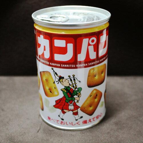 送料無料 かんぱん(缶パン)24缶入 サンリツ 非常食 約2年【常】