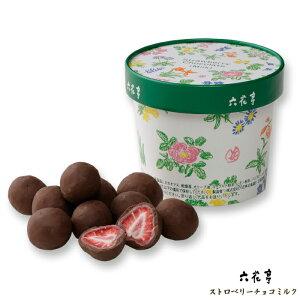 六花亭 ストロベリーチョコ ミルク 北海道お土産 お返し 友人 お取り寄せ 贈り物 ドライフルーツ チョコレート お菓子 おみやげ 手土産 ギフト