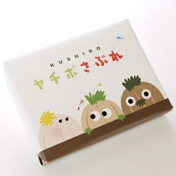 《釧路限定菓子》くしろヤチボさぶれ12枚入り北海道お土産ギフト