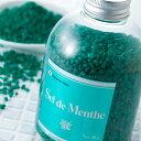 【割引送料込】【北見ハッカ通商】Sel de Menthe(セル・デ・メンタ)徳用ボトル(和種ハッカの入浴剤)450g×3【御中元…