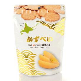 【山口油屋福太郎×井原水産】 かずべい 80g味付き数の子入り海鮮せんべい