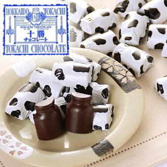 Hokkaido Tokachi chocolates 40 pieces collection of milk cans into cow-shaped chocolates