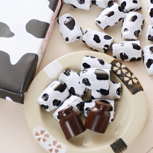 【北海道限定】北海道 十勝チョコレート 40個入牛柄の牛乳缶の形をしたチョコ【プレゼント おみやげ 新生活 入学 進学 引越し 挨拶 ギフト 粗品 引っ越し 御挨拶 お土産 プチギフト