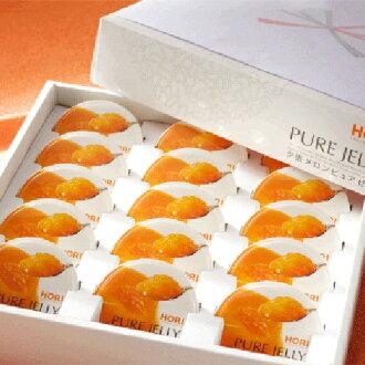 Holly Yubari melon pure jelly 15 pieces