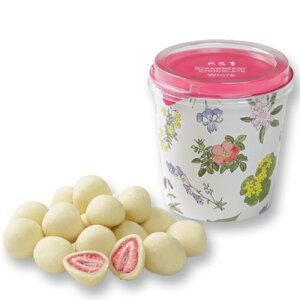 【六花亭】 ストロベリーチョコ ホワイト【お土産 チョコレート 北海道】