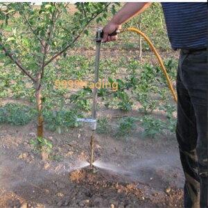 あす楽★ 格安 土壌液肥注入機 土壌改良 灌注 簡単ステップ付 防除 現代農業 みかん りんご なし 無農薬栽培 根 お得