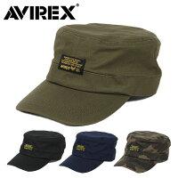 アビレックスワークキャップ帽子メンズAVIREXBLACKPATCHアヴィレックスキャップ人気ブランド
