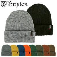 BRIXTONブリクストンニット帽ニットキャップメンズレディース帽子HEISTBEANIEKINTCAP無地ビーニースケータースケートブランド