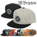 BRIXTON ブリクストン キャップ メンズ OATH 3 SNAPBACK CAP MEN'S 帽子 スナップバック スケーター スケートブランド