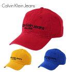 カルバンクラインジーンズCKキャップLOGOCAP帽子メンズレディースおしゃれ人気ブランドブルーレッドイエロー