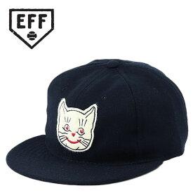 Ebbets Field Flannels エベッツフィールドフランネルズ キャップ Kansas City Katz カンザスシティ・カッツ メンズ 帽子 野球帽 ビンテージキャップ レトロ エベッツフィールド キャップ