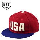 EbbetsFieldFlannelsエベッツフィールドフランネルズキャップUSANationalTeamメンズ帽子野球帽ビンテージレトロ