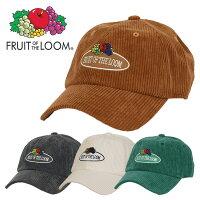 フルーツオブザルームコーデュロイキャップメンズレディース帽子FRUITOFTHELOOMCAPMEN'SLADIESローキャップ人気ブランド