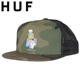 HUF ハフ メッシュキャップ MISS AMERICA FU TRUCKER HAT メンズ 帽子 スケーター ファッション スケートブランド