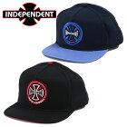 IndependentインディペンデントスナップバックキャップTWOTONEメンズ帽子スケーター