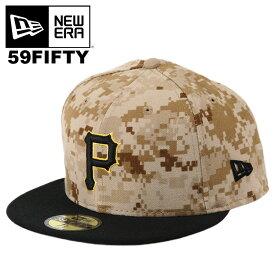 ニューエラ キャップ 59FIFTY New Era ピッツバーグ・パイレーツ MLB メンズ 帽子 ニューエラ パイレーツ デジカモ 迷彩 オーセンティック メジャーリーグ ベースボールキャップ NEWERA 大きいサイズ ビッグサイズ
