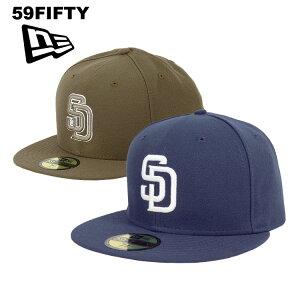 ニューエラ キャップ サンディエゴ・パドレス メンズ 帽子 59FIFTY NEW ERA MEN'S オーセンティック 2015 公式モデル メジャーリーグ ベースボールキャップ 大きいサイズ ビッグサイズ