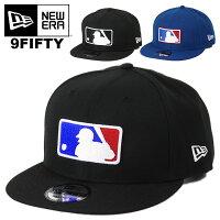 ニューエラキャップメンズ帽子9FIFTYNewEraバッターマンロゴメジャーリーグベースボールロゴスナップバックキャップ