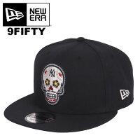 ニューエラキャップヤンキースメキシカンスカルカラベラ9FIFTYスナップバックメンズNewEra帽子ベースボールキャップ