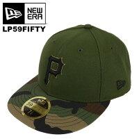 ニューエラキャップメンズLP59FIFTYNEWERAロープロファイルピッツバーグ・パイレーツ帽子オーセンティック公式モデル