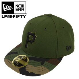 ニューエラ キャップ メンズ LP59FIFTY NEW ERA ロープロファイル ピッツバーグ・パイレーツ 帽子 オーセンティック 公式モデル