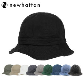 ニューハッタン テニスハット メトロハット バケットハット メンズ レディース 帽子 Newhattan Metro Hat Men's Ladies デニム ブラック ベージュ カーキ 人気 ブランド かわいい おしゃれ