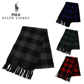 ポロ・ラルフローレン マフラー BUFFALO CHECK メンズ レディース ラルフ Polo Ralph Lauren 人気 ブランド おしゃれ