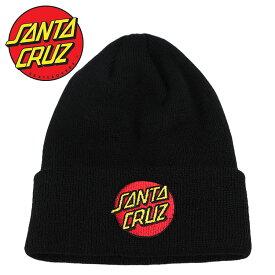 SANTA CRUZ サンタクルーズ ビーニー ニットキャップ Classic Dot Long Shoreman Beanie Hat メンズ ニット帽 帽子 サンタクルズ スケーター スケボー ストリート カジュアル ファッション 小物 アクセサリー