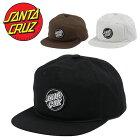 SANTACRUZサンタクルーズキャップAptosSnapbackHatメンズ帽子スナップバックキャップサンタクルズスケータースケボーストリートカジュアルCAPファッション小物アクセサリー