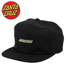 SANTA CRUZ サンタクルーズ キャップ Strip Unstructured Low Strapback Hat メンズ 帽子 スナップバックキャップ サンタクルズ スケーター スケボー ストリート カジュアル CAP ファッション 小物 アクセサリー