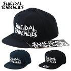 SuicidalTendenciesスイサイダルテンデンシーズキャップメンズ帽子ロゴスラッシュハードコアバンドベニスビーチスケーターギャングスタイル
