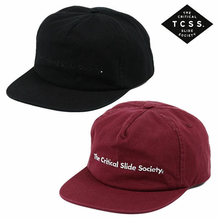 TCSS キャップ スナップバック COMMUNE CAP 帽子 メンズ レディース ユニセックス ロゴ T.C.S.S. ティーシーエスエス バーガンディー ボルドー エンジ ワインレッド サーフブランド