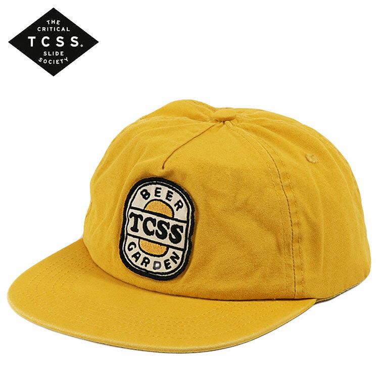 TCSS キャップ スナップバック JIMS BEER GARDEN CAP 帽子 メンズ レディース ユニセックス ロゴ T.C.S.S. ティーシーエスエス サーフブランド
