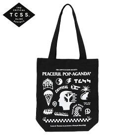 TCSS トートバッグ POP-AGANDA TOTE BAG カバン エコバッグ メンズ レディース ユニセックス ロゴ T.C.S.S. ティーシーエスエス サーフブランド かっこいい おしゃれ かわいい 人気 誕生日プレゼント 男友達 彼氏 旦那