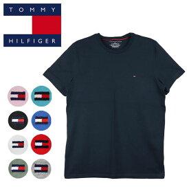 トミーヒルフィガー Tシャツ メンズ レディース TOMMY HILFIGER ミニフラッグロゴ ワンポイント 半袖 ブランド 大きいサイズ オーバーサイズ