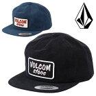 VOLCOMボルコムスナップバックキャップ帽子メンズUTILITYCAPサーフブランドサーフィンスケータースケボースノーボードスノボ