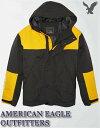 【送料無料】アメリカンイーグル AMERICAN EAGLE OUTFITTERS AE Hooded All Weather Parka【正規品】【メンズ】フード付き 中綿入り 全天候型 ナイロンジ