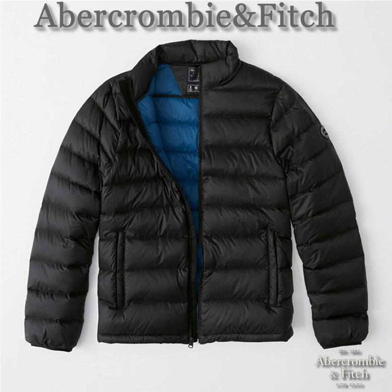 【送料無料】アバクロ Abercrombie&Fitch アバクロンビー&フィッチ【正規品】【メンズ】Lightweight Down Filled Convertible Hood Packable Puffer ライトウェイトダウンジャケット/Black【あす楽対応】