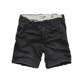 【送料無料】アバクロ Abercrombie&Fitch【正規品】【メンズ】A&F Classic Fit Shorts ショートチノパン ショートパンツ/Navy【あす楽対応】