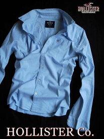 【送料無料】ホリスター HOLLISTER Co.【正規品】【メンズ】Oxford Shirt 長袖 カジュアルシャツ オックスフォードシャツ/Light Blue【あす楽対応】