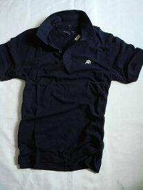 【送料無料】エアロポステール Aeropostale【正規品】【メンズ】Men's A87 Polo 半袖 鹿の子 ポロシャツ/ネイビー【あす楽対応】