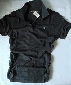 【送料無料】エアロポステール Aeropostale【正規品】【メンズ】Men's A87 Polo 半袖 鹿の子 ポロシャツ/ダークグレー【あす楽対応】