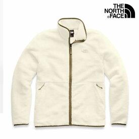 【送料無料】ノースフェイス THE NORTH FACE USモデル【正規品】【メンズ】Dunraven Sherpa Full-Zip Sweatshirt ダンレイヴン シェルパ ボアジャケット/ヴィンテージホワイト×ブリティッシュカーキ【あす楽対応】