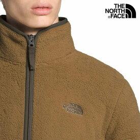【送料無料】ノースフェイス THE NORTH FACE USモデル【正規品】【メンズ】Dunraven Sherpa Full-Zip Sweatshirt ダンレイヴン シェルパ ボアジャケット/ブリティッシュカーキ【あす楽対応】