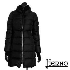\クーポンGETで74472円/送料無料 HERNO ヘルノ ダウンコート 超軽量ダウンジャケット シンプルな無地 防寒バッチリ [3102b]