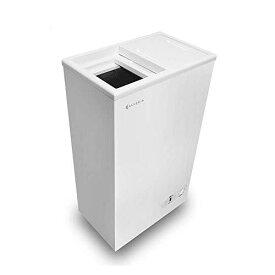 ALLEGiA(アレジア) 小型冷凍庫【41L】 上開き スライドドア 家庭用 AR-BD43-NW スリム 業務用 冷凍ストッカー フリーザー 小さい冷凍庫 ミニ冷凍庫